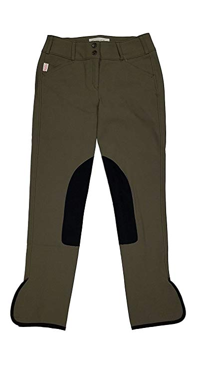 Tailored Sportsman Trophy Hunter Breeches #1963 - Porcini w/ Black Patches