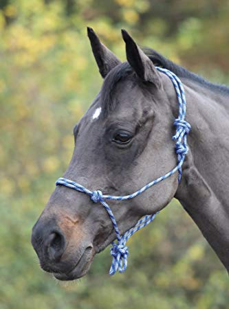 Shires Adjustable Rope Halter