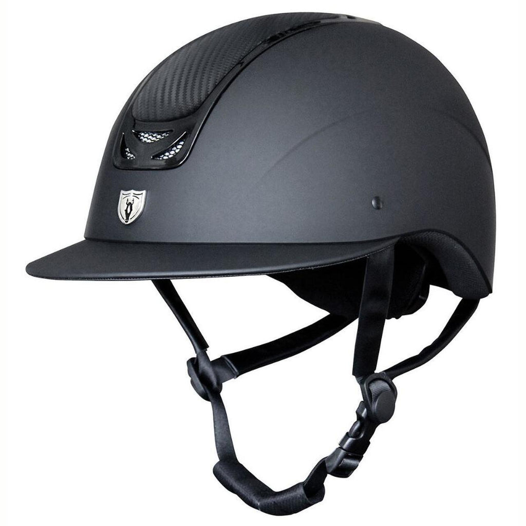 Tipperary 9503 Wide Brim Royal Helmet - Carbon Leather