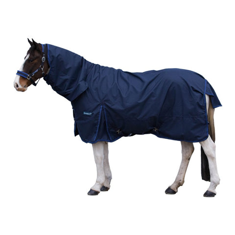 HORSEWARE LOVESON ALL-IN-ONE TURNOUT 0G NAVY/BLUE TRIM