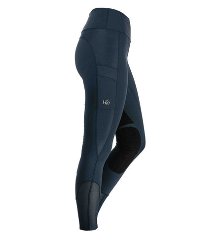 HORSEWARE RIDING TIGHTS - NAVY