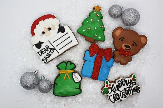 Northern Equestrian Christmas Day Cookies - 6 pack