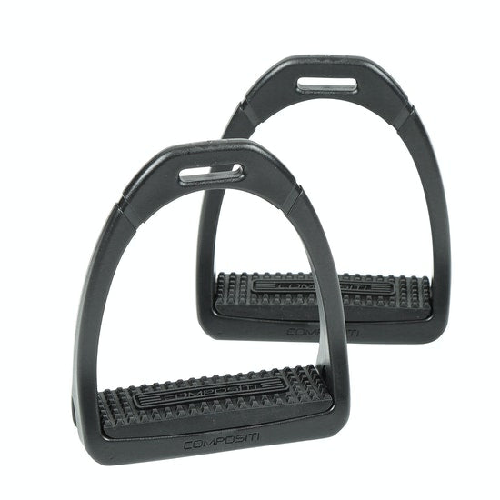 Shires Compositi Premium Stirrup - Black