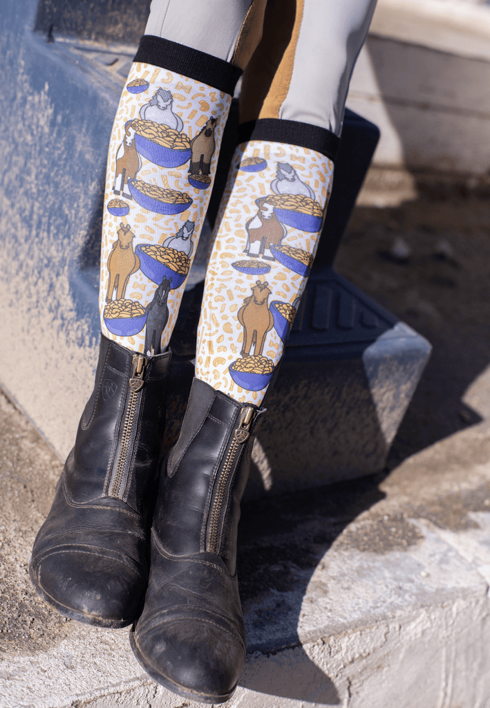 "Dreamers & Schemer ""Pony Mac 2.0"" Boot Sock - Pair and Spare Collection"