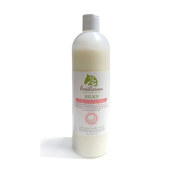 Ecolicious Silky Rinse out Moisturing Conditioner for Coat, Mane & Tail