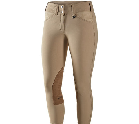 Equine Couture Women's Coolmax Champion Front Zip Breeches