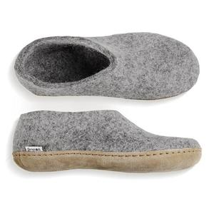Glerups Shoe Leather Sole - Grey
