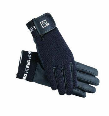SSG AQUATACK WINTER LINED CHILDS GLOVES 9500 - BLACK