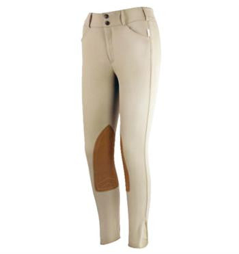 Tailored Sportsman 1963 Trophy Mid Rise Front Zip Tan Breech