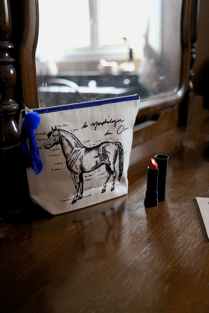 Spiced Equestrian CHEVAL MAKEUP BAG