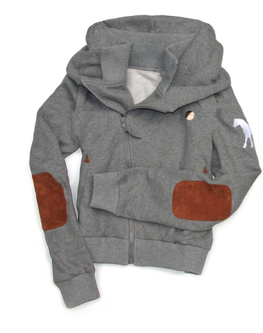 Spiced Equestrian Cuddle Hoodie III - PEPPER