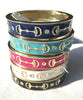 Enamel Bangle Bracelets