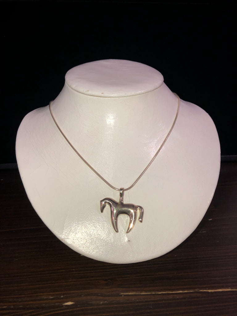Horsefeathers Contemporary Equus Pendant Necklace