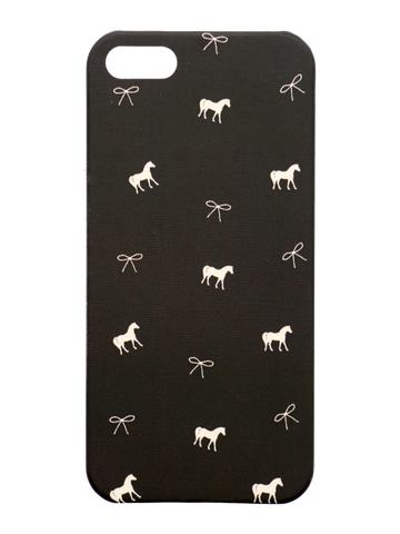 Spiced Equestrian Phone Case in Onyx Pony