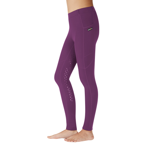 Kerrits Kids Ice Fil Tights - Amethyst