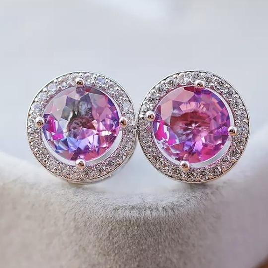 My Barn Child Earrings: Diva - Lavender / Pink