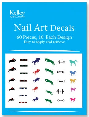 KELLEY HORSE NAIL ART DECALS