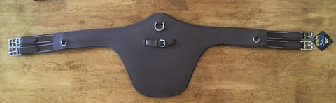 Ovation Sellerie Leather Belly Guard Girth