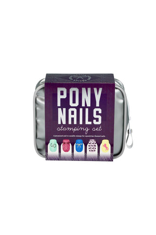 Spiced Equestrian PONY NAILS STAMPING SET