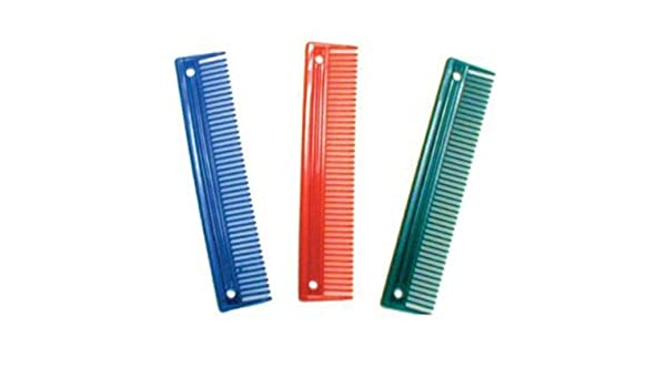 "9"" Heavy Duty Plastic Animal Comb"