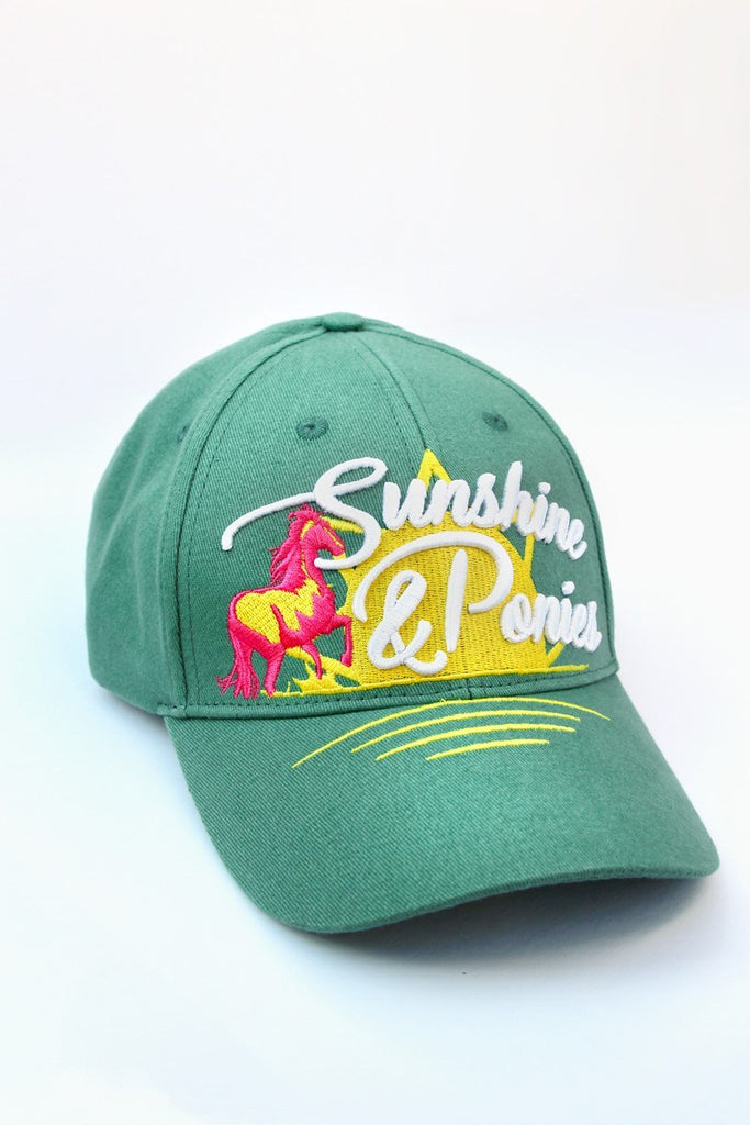 Spiced Equestrian Sunshine & Ponies Ringside Hat