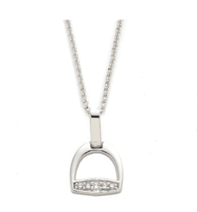 AWST English Stirrup Necklace