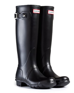 Hunter Boots Women's Original Tall Matte Black