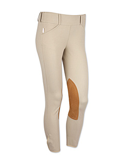 Tailored Sportsman Trophy Breeches Low Rise Side Zip 1968 Tan