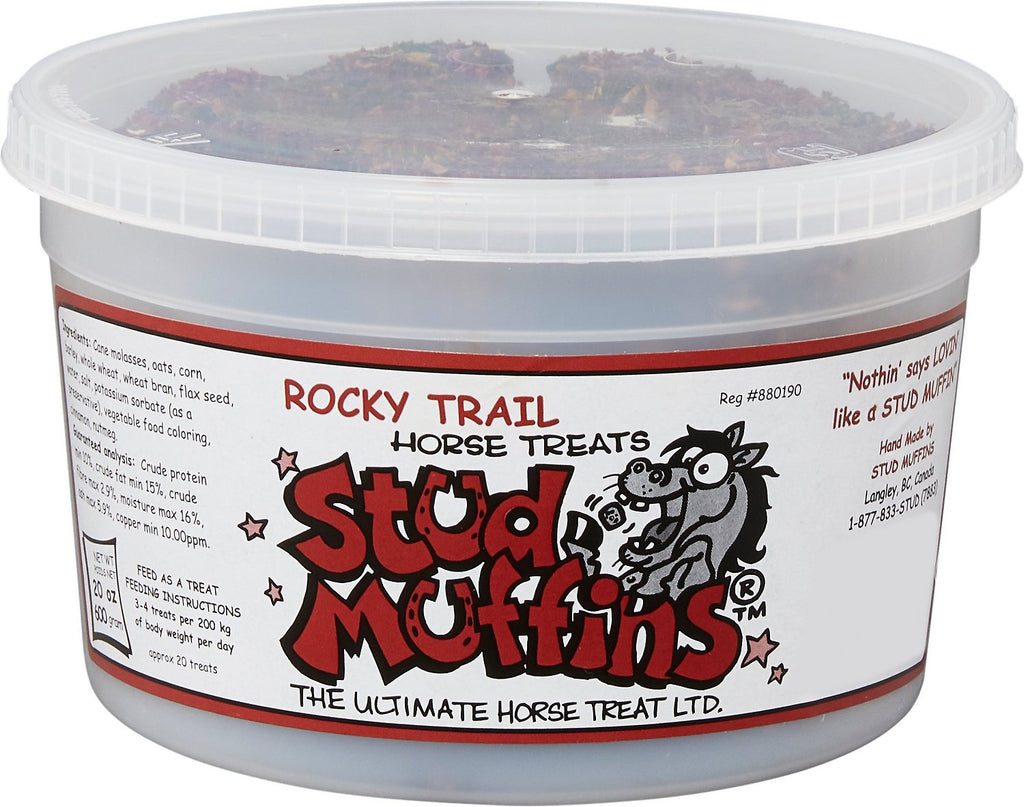 Stud Muffins - Rocky Trail Flavoured (20 oz) Tub