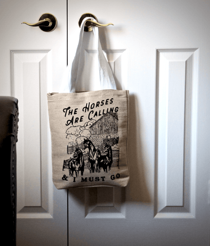 Spiced Equestrian The Horses Are Calling Tote