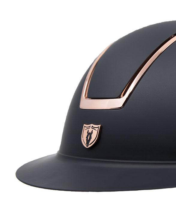 Tipperary Windsor Rose Gold Wide Brim MIPS Helmet