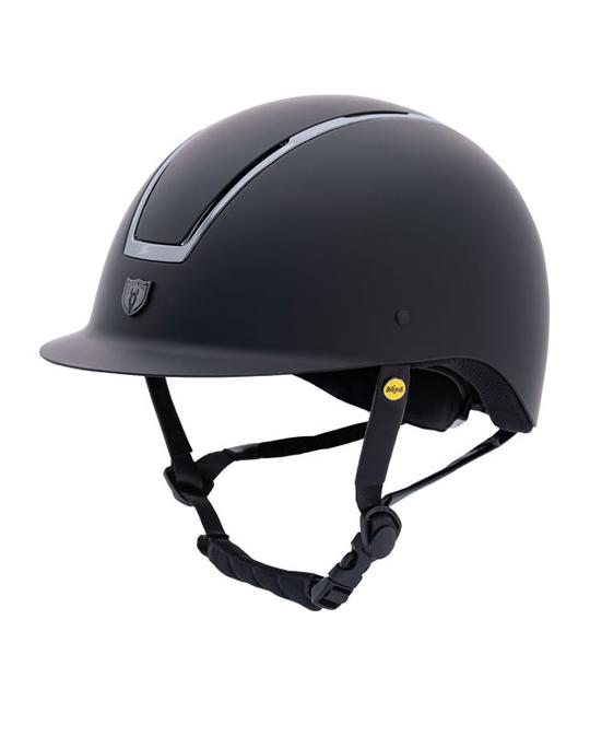 Tipperary 9700 Smokey Chrome Windsor Traditional Brim MIPS Helmet
