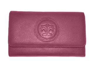 Tucker Tweed Equestrian Wallet - Mulberry