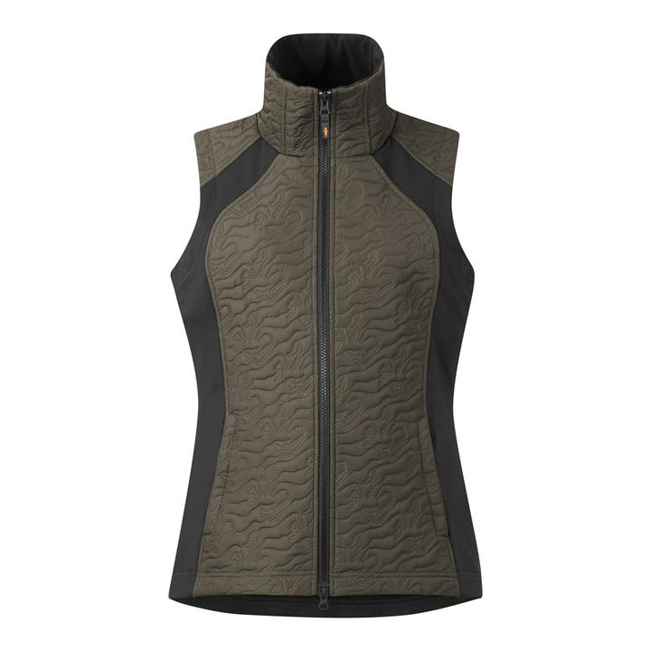 KERRITS Quilted Vest - DRIFTWOOD