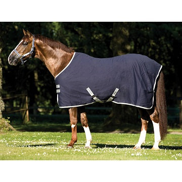 Horseware Amigo Stable Sheet Navy/Silver
