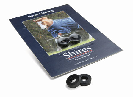 SHIRES SPARE SURCINGLE RUBBER RINGS