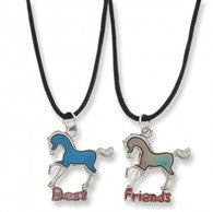AWST Best Friends Horse Mood Necklace