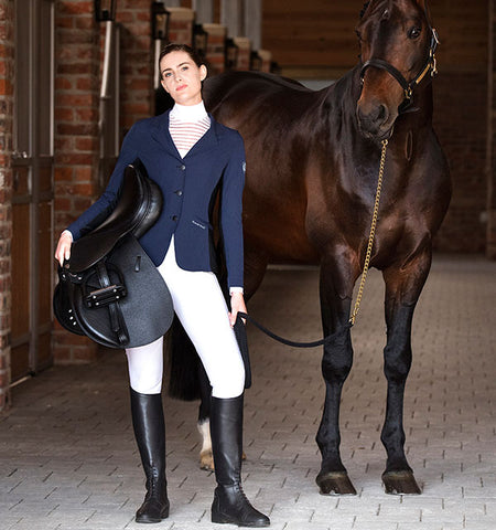Horseware Air MK2 Ladies Competition Jacket - Navy