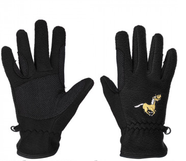 Equistar Child Pony Fleece Gloves - Black