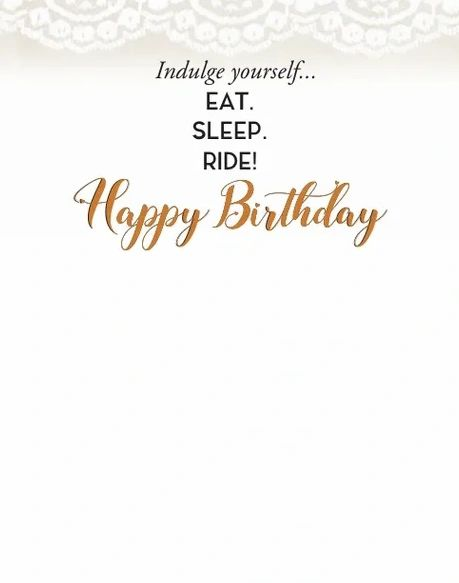 Horse Hollow Press Birthday Card - It's Your Birthday...