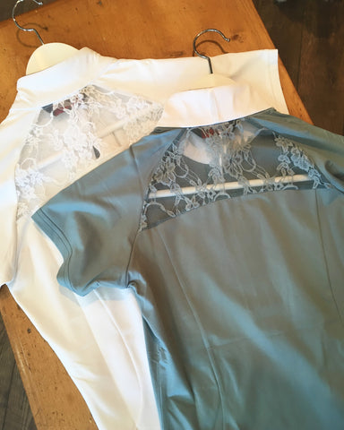 Horseware Sara Jersey Competition Top- Tourmaline Blue