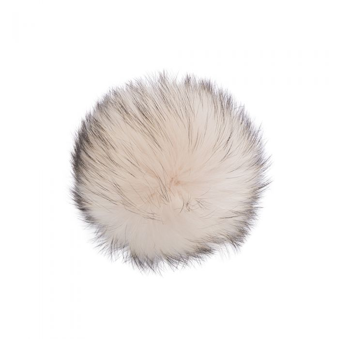 Lindo F Large Raccoon Fur Poms