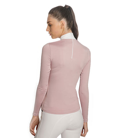 Horseware Lisa Technical Long Sleeve Competition Shirt - Blush
