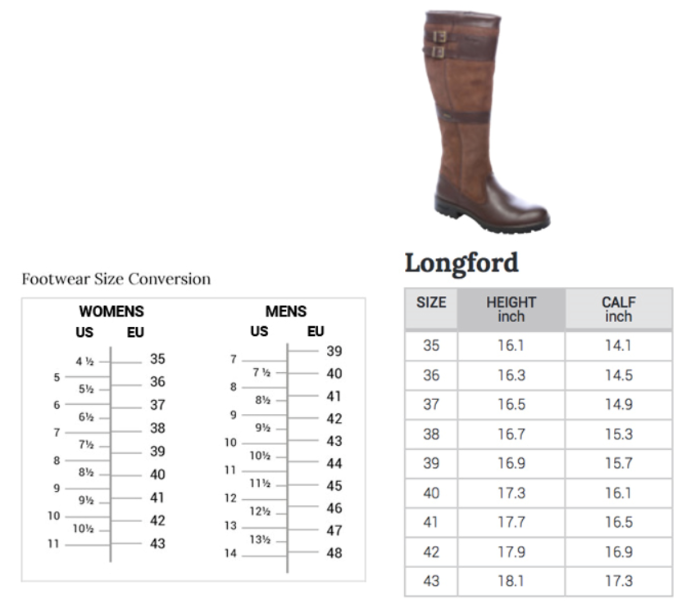 Dubarry of Ireland Longford Leather Boot