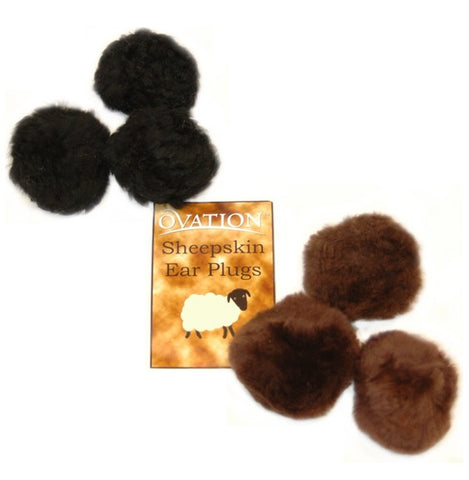 Ovation Sheepskin Ear Plugs