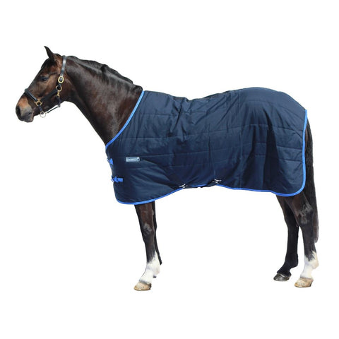 LOVESON 100G STABLE RUG - NAVY/BLUE