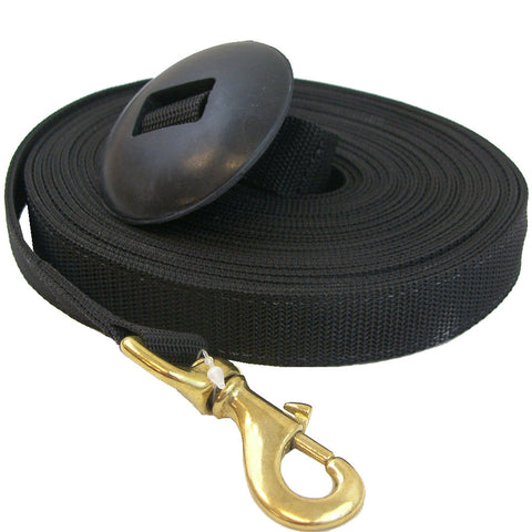 25ft Lunge Line with Rubber Stopper