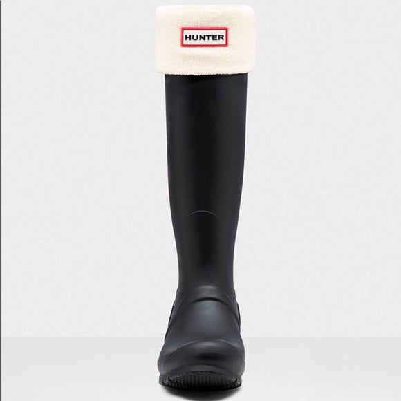 Hunter Boot Original Tall Boot Socks: Cream