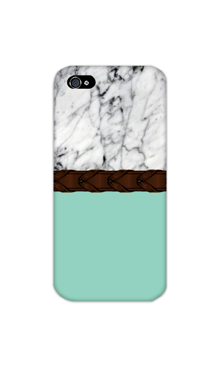 Spiced Equestrian Phone Case in Laced Mint