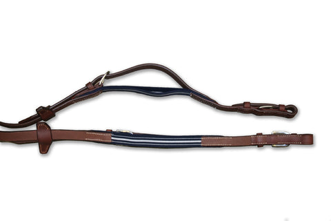Antares PRECISION RUBBER REINS WITH ELASTIC